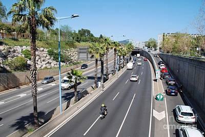 Photograph - Ronda De Dalt In Barcelona by David Fowler