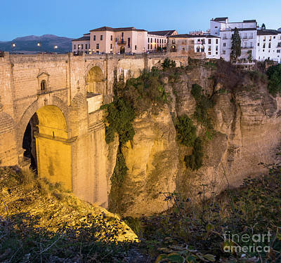Photograph - Ronda Malaga, Puente Nuevo, Spain by Perry Van Munster