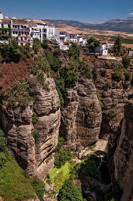 Photograph - Ronda On The Shores Of River Guadalevin by Jenny Rainbow