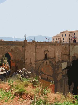 Painting - Ronda, Puente Nuevo by Andrea Mazzocchetti