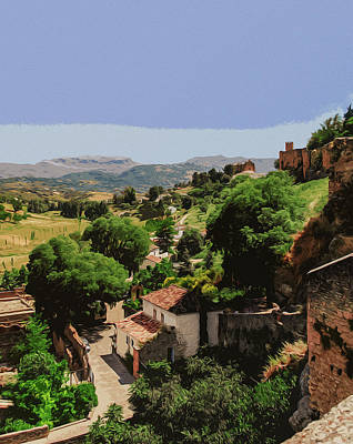 Painting - Ronda, Southern Spain by Andrea Mazzocchetti