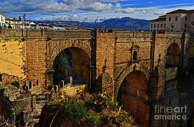 Photograph - Ronda - Spain - Puente Nuevo by Carlos Alkmin