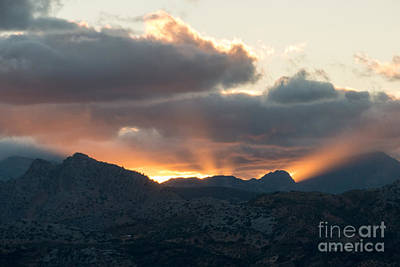 Photograph - Ronda Sunset by Rod Jones
