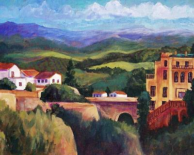 Roaring Red - Ronda View from the Bridge by Candy Mayer