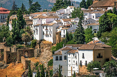Photograph - Ronda White Houses. Spain by Jenny Rainbow
