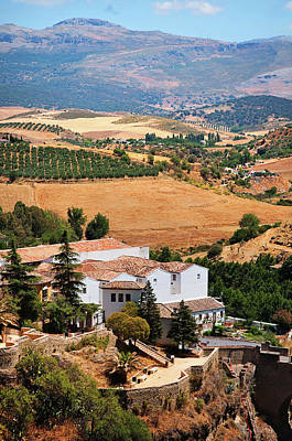 Photograph - Ronda. White Village Of Andalusia by Jenny Rainbow