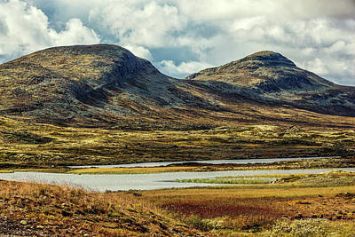 Photograph - Rondane Mountains by Mike Santis