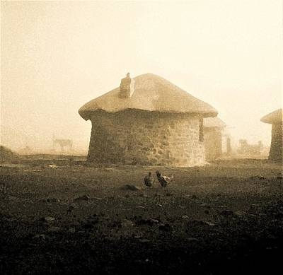 Photograph - Rondavel In Lesotho by Susie Rieple