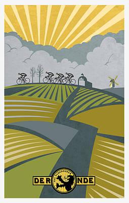 Painting - Ronder Van Vlaanderen by Sassan Filsoof