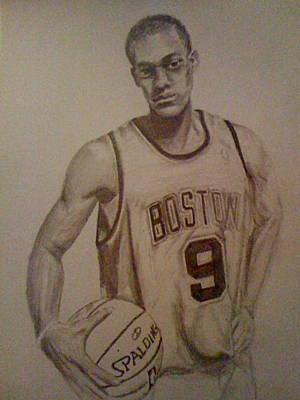 Rajon Drawing - Rondo by Allison Beatty