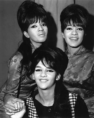 Photograph - Ronettes by Chris Walter
