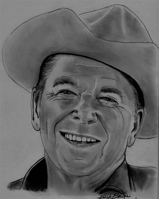 Drawing - Ronnie by Barb Baker