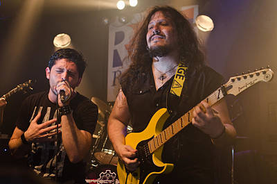 Dio Photograph - Ronnie Romero 12 by Pablo Lopez