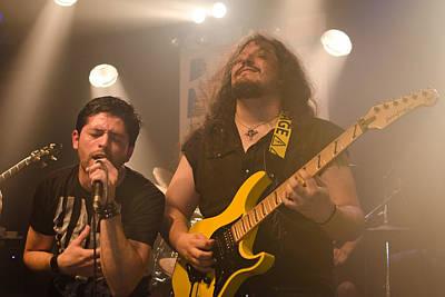 Dio Photograph - Ronnie Romero 13 by Pablo Lopez