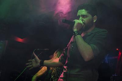 Photograph - Ronnie Romero 29 by Pablo Lopez