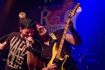 Dio Photograph - Ronnie Romero 3 by Pablo Lopez