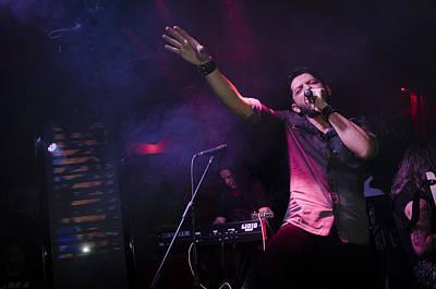 Photograph - Ronnie Romero 30 by Pablo Lopez