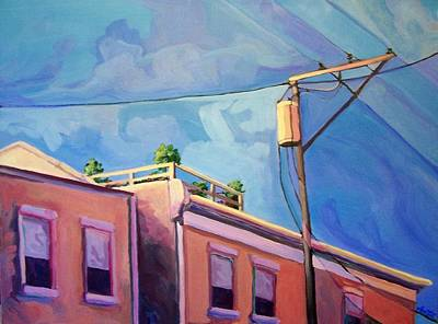 Painting - Roof Garden by Laura Aceto