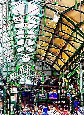 Photograph - Roof Over Borough Market by Dorothy Berry-Lound