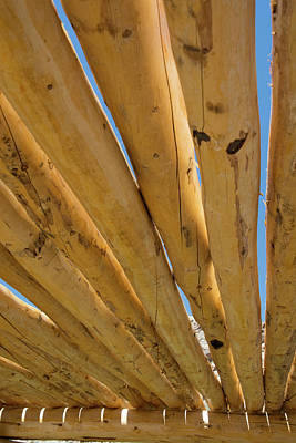 Photograph - Roof Poles by Michael Raiman