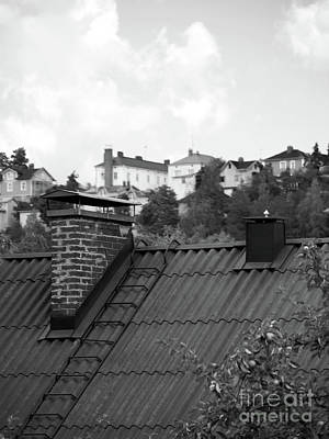 Photograph - Roof by Tapio Koivula