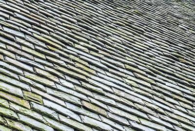 Photograph - Roof Tiles II by Helen Northcott