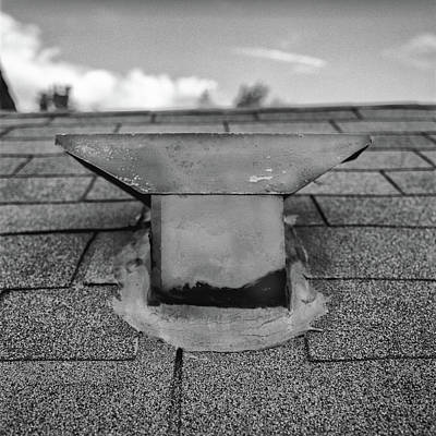 Photograph - Roof Vent Cap - T Style by YoPedro