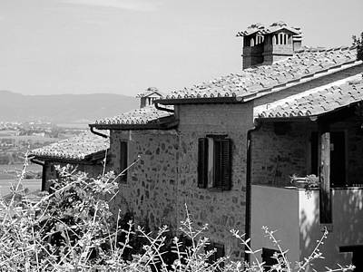 Photograph - Roofs With A View by Dorothy Berry-Lound