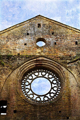 Photograph - Roofless Church Abbazia Di San Galgano by Marilyn Hunt