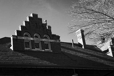 Photograph - Roofline by George Taylor