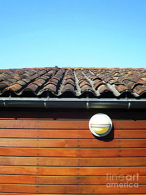 Photograph - Roofline Ripples by Rick Locke