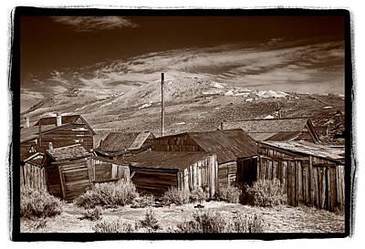 Rooflines Bodie Ghost Town Original
