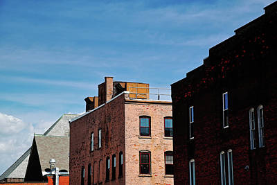 Photograph - Rooflines No. 2 by Geoffrey Coelho
