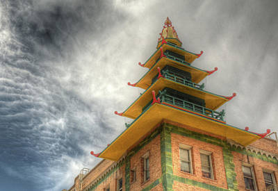 Photograph - Rooftop Pagoda by Michael Kirk