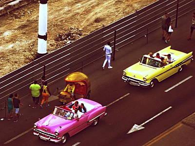 Photograph - Rooftop Views In Havana Cuba  by Funkpix Photo Hunter