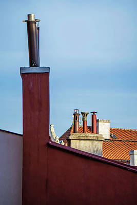 Photograph - Rooftops by Andrew Proudlove