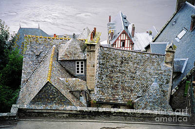 Photograph - Rooftops Below by Donna L Munro