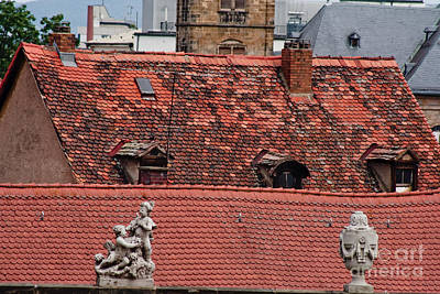 Bamberg Photograph - Rooftops Of Bamberg II by Thomas Marchessault