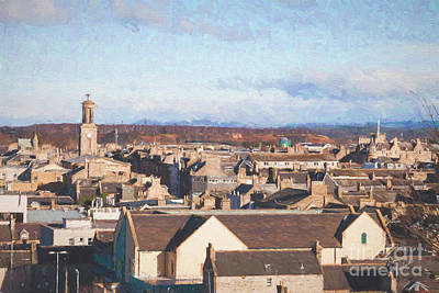 Photograph - Rooftops Of Elgin by Diane Macdonald