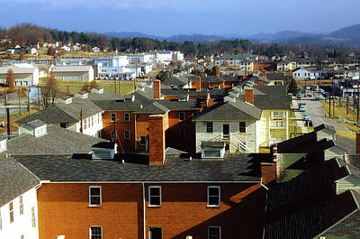 Photograph - Rooftops Of Oak Ridge Tennessee 1950s by Ed Westcott