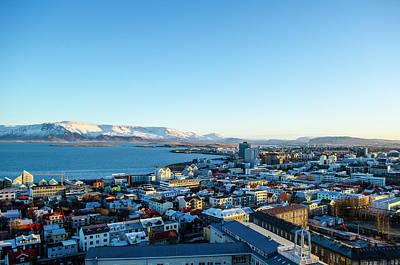 Photograph - Rooftops Of Reykjavik Iceland by Deborah Smolinske