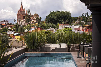 Photograph - Rooftops Of San Miguel Mexico by Juli Scalzi