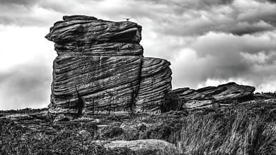 Photograph - Rook Rock by Makk Black