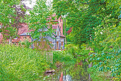 Digital Art - Rooksbury Mill by Andrew Middleton