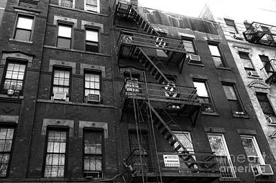 For Rent Photograph - Room For Rent Mono by John Rizzuto