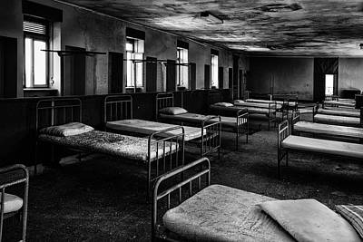 Room Of Nightmares - Abandoned School Building Art Print by Dirk Ercken