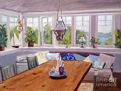 Painting - Room With A Lake View by Shelley Koopmann