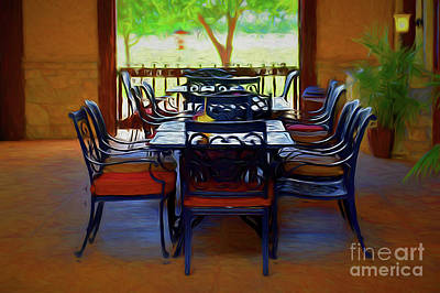 Photograph - Room With A View 11718-1 by Ray Shrewsberry