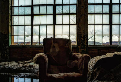 Photograph - Room With A View by John Hoey