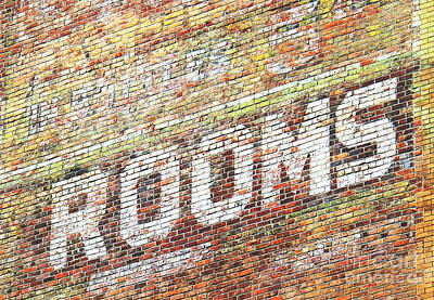 Art Print featuring the photograph Rooms by Ethna Gillespie